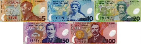 new-zealand-old-banknotes