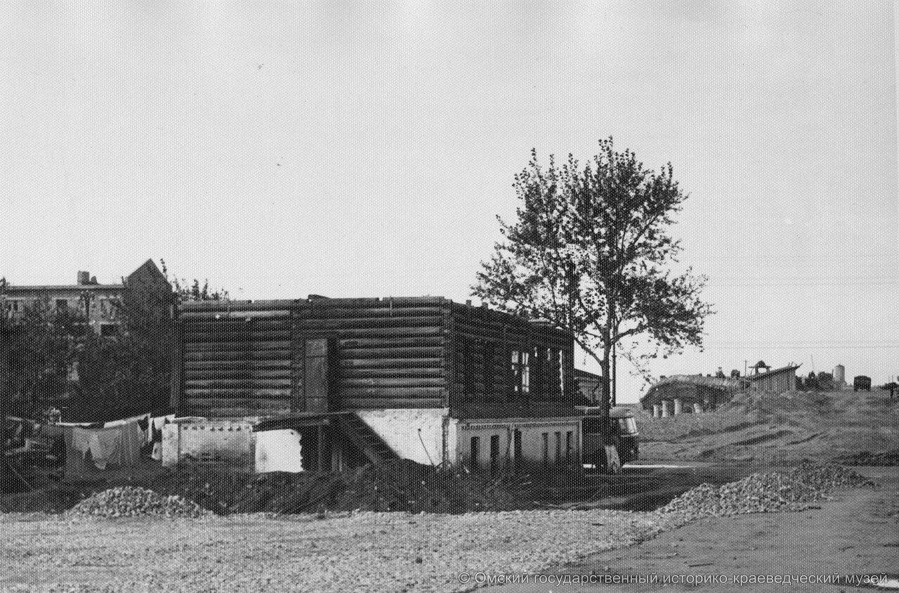 Снос домов по улМасленникова, возле моста, 1959.jpg