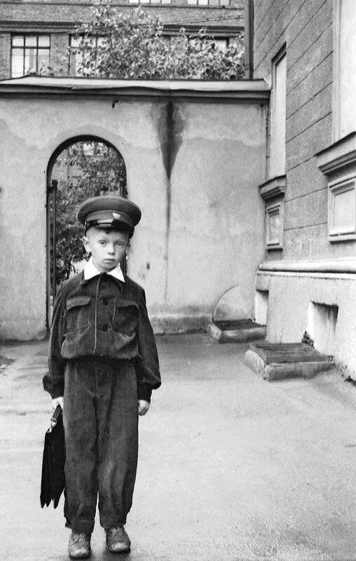 Школьник. 1955