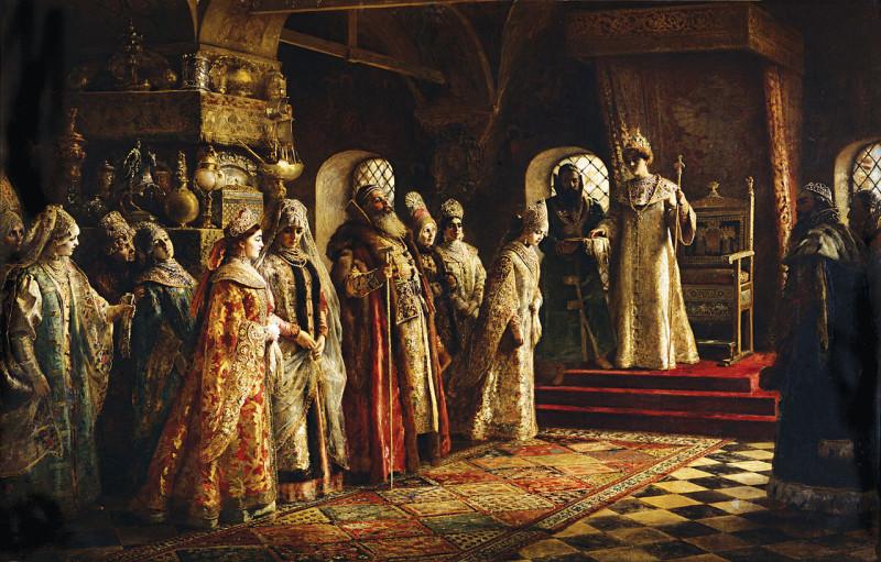 Константин Маковский «Выбор невесты царём Алексеем Михайловичем», изображение из интернета
