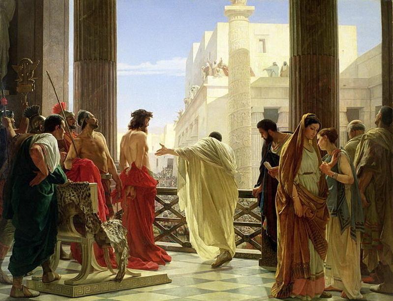 """Изображение из интернета, Антонио Чизери """"Понтий Пилат"""""""