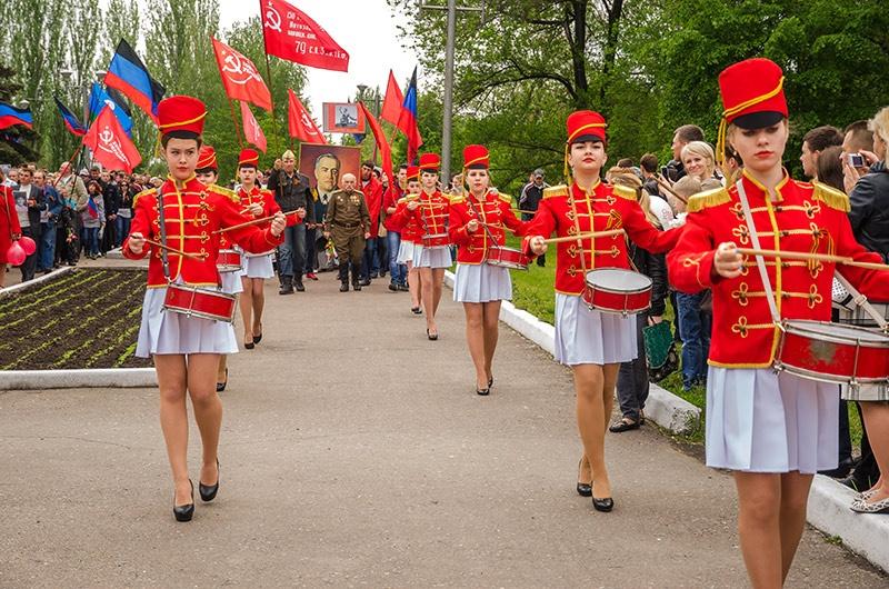 Новости донбасса, 9 мая, день победы, день победы красноармейск, 9 мая красноармейск