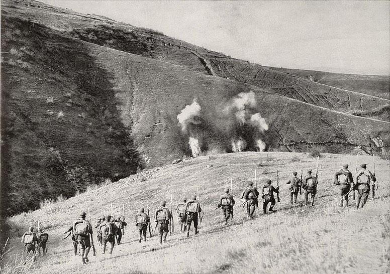 Болгары атакуют при Битоле.jpg