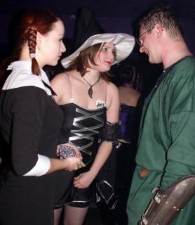 Хэллоуин: задушевная беседа
