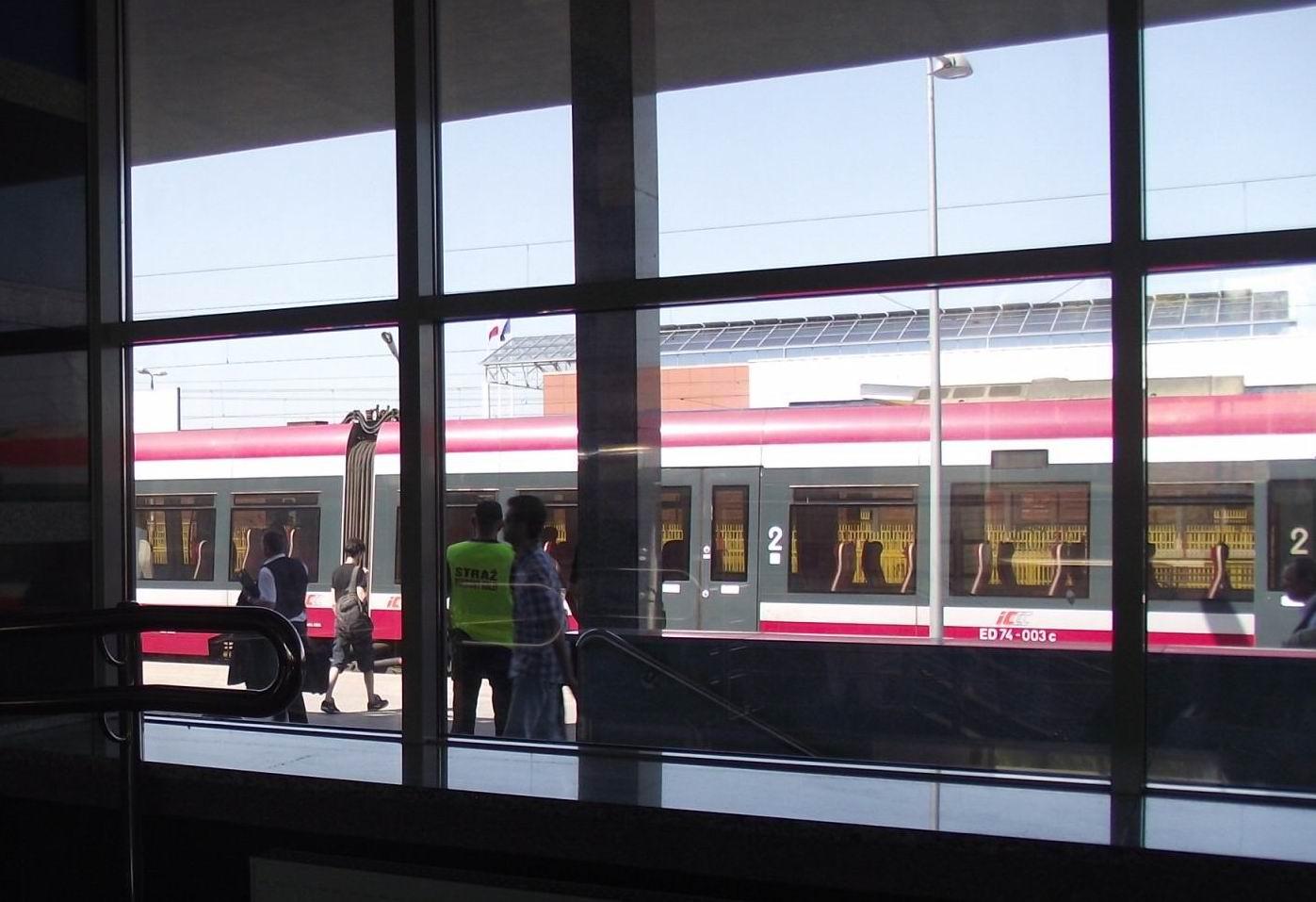 На вокзал Тересполя пришел поезд до Варшавы