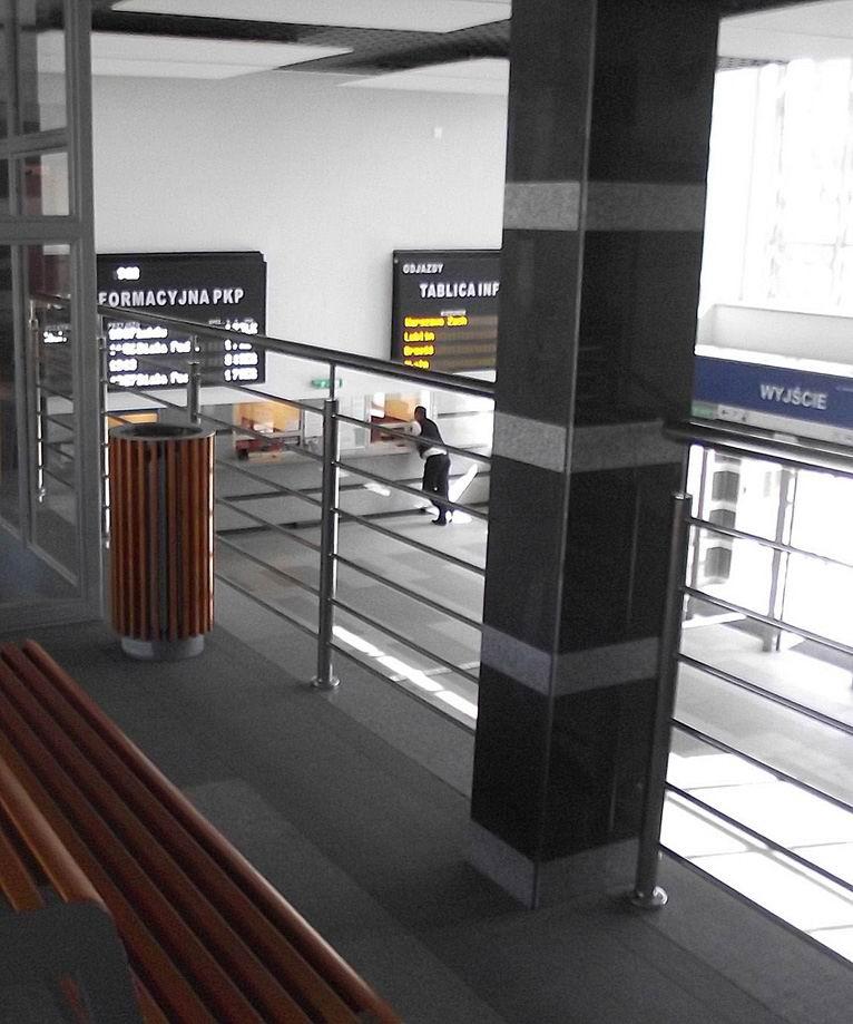 В тереспольском вокзале