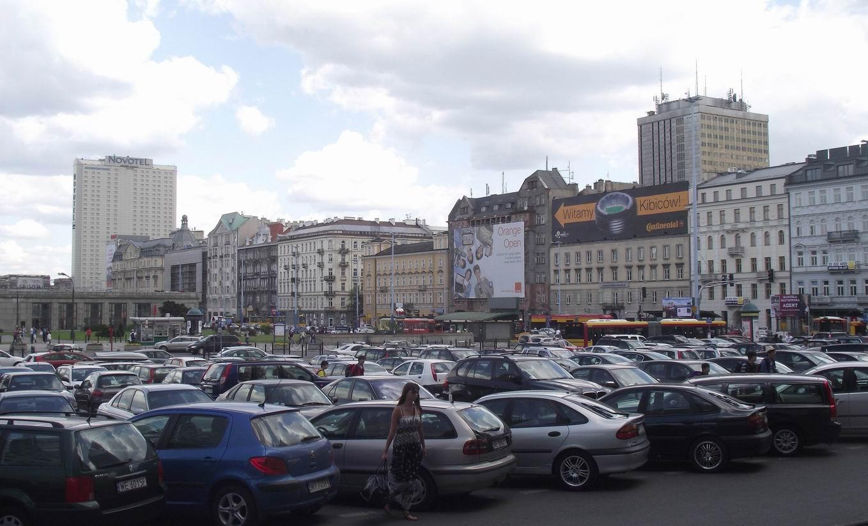 Привокзальная площадь в Варшаве