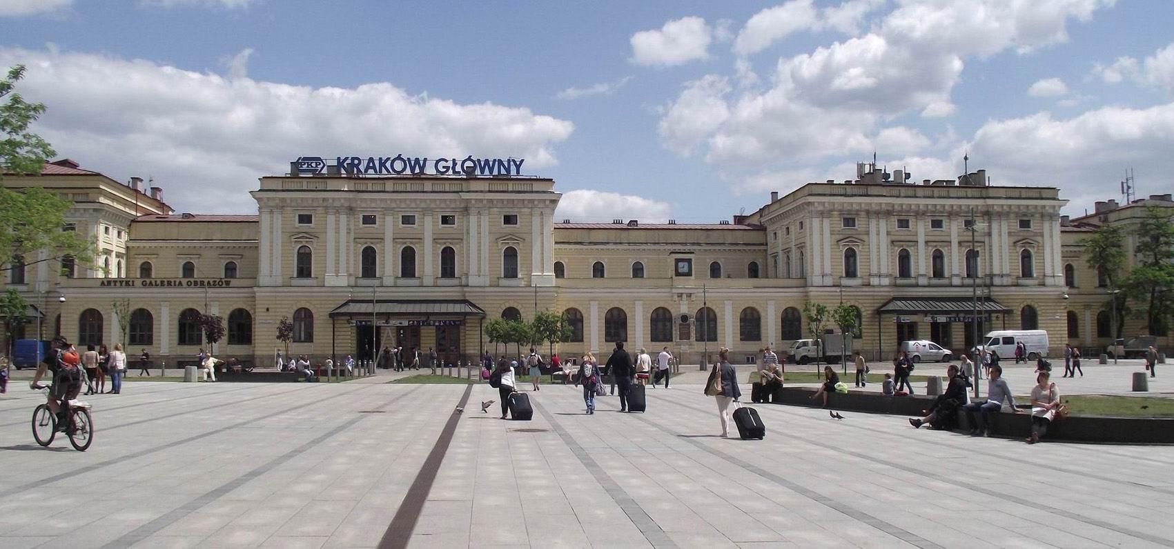 Главный вокзал Кракова