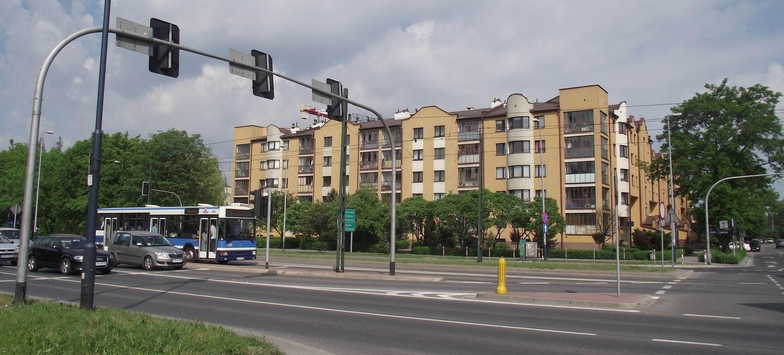 Краков - улица Монте-Кассино
