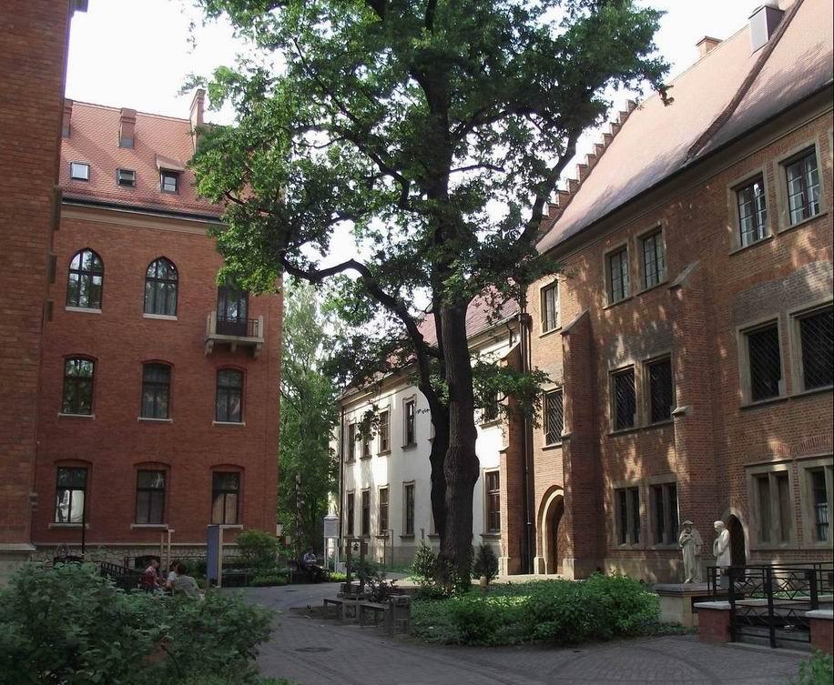 Профессорский сад в Краковском университете