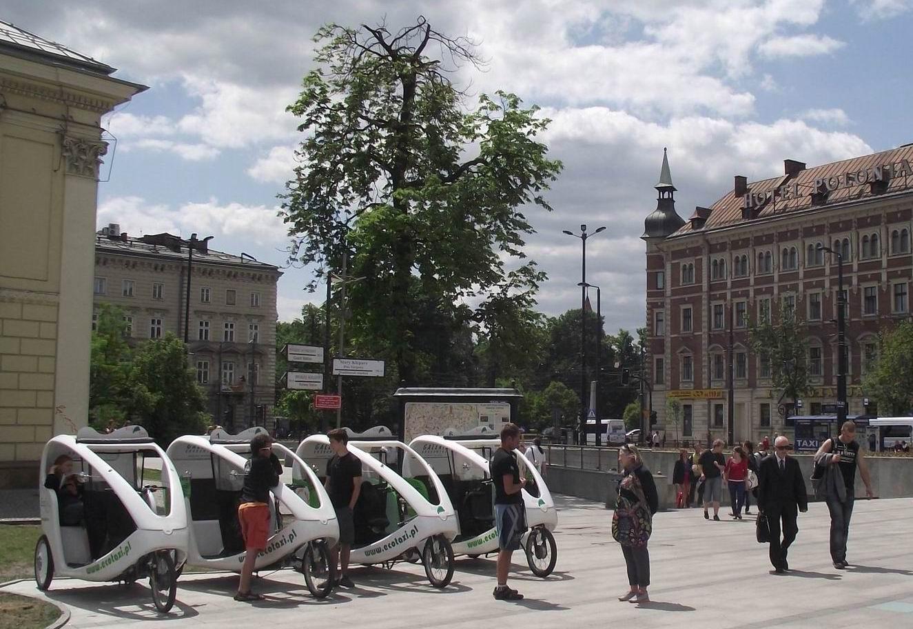 Краков - велотакси
