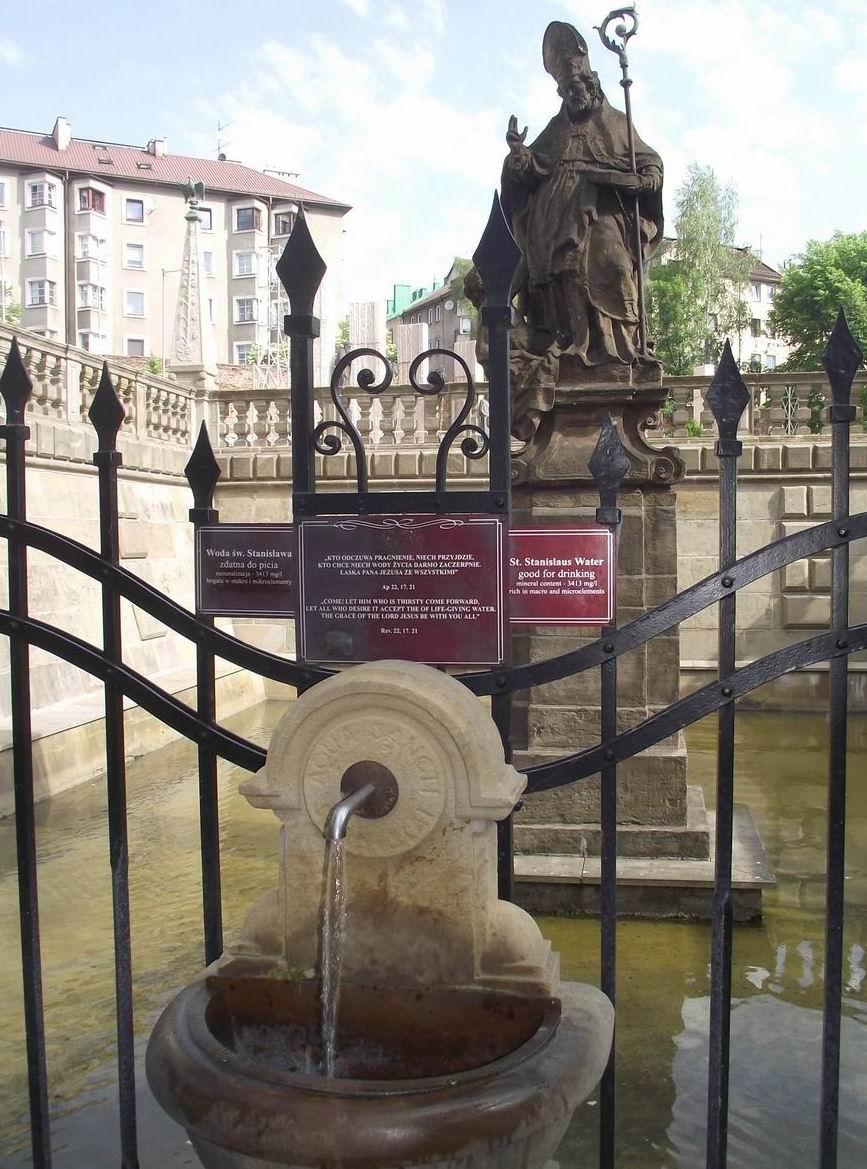 Краков - святая вода от св. Станислава