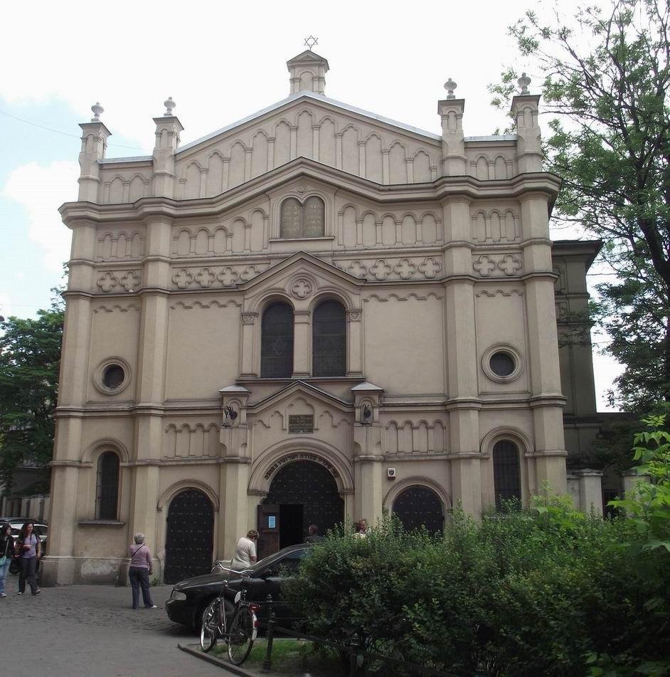 Краков - синагога в Казимеже