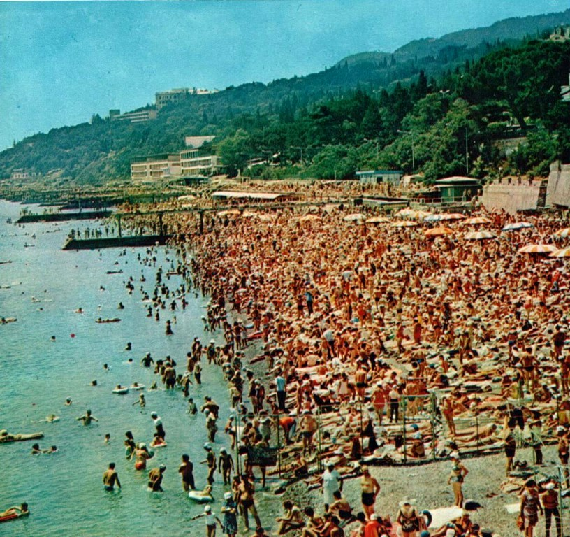 Пляжи в СССР или спасибо, родители 649472_original