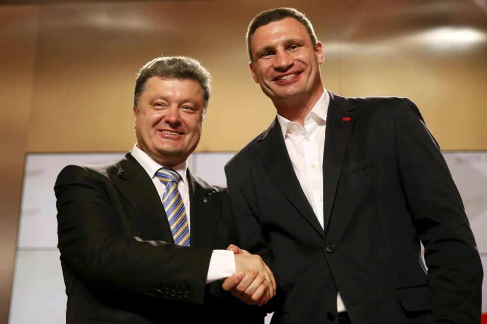 Новая метла Украины метет акуительно или когда посадят Порошенко и Кличко