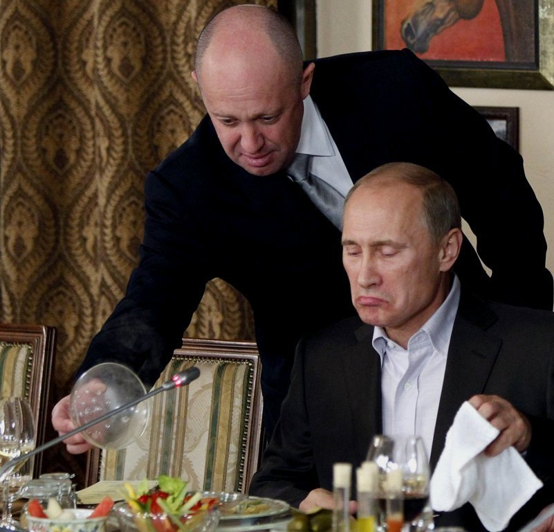 Хорошие новости, у повара Путина каша с Twitter не получилась