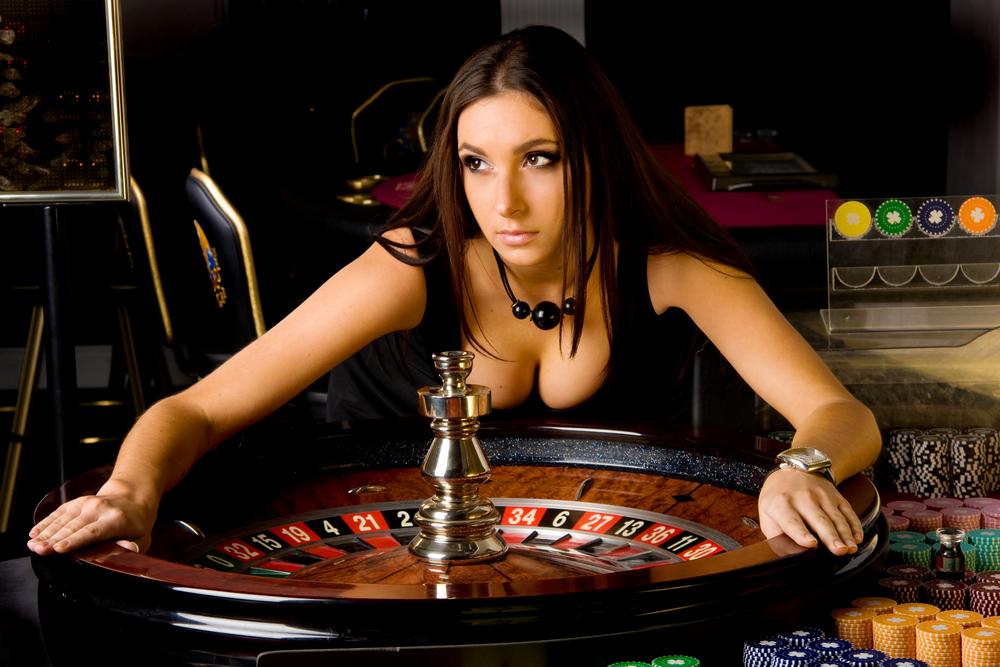 девушки в казино