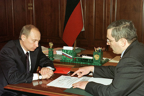 Putin-and-Khodorkovsky