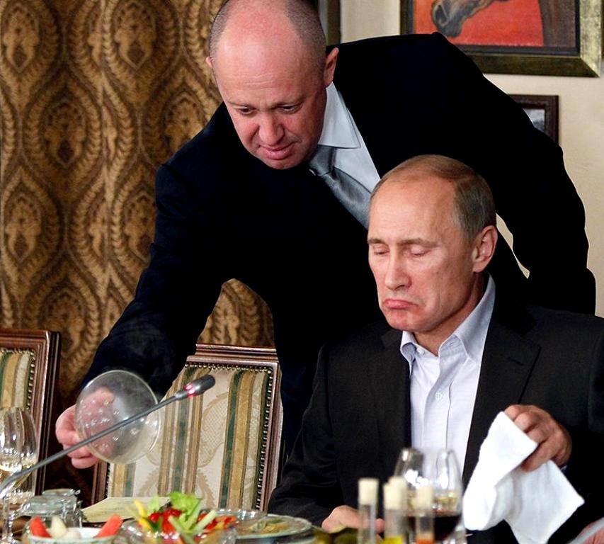 Друзья Путина, интервью вождя Мегин Келли 5-Prigozhin-left-putin