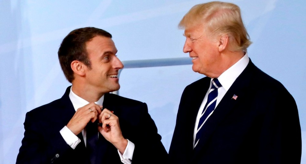 Macron-Trump-1