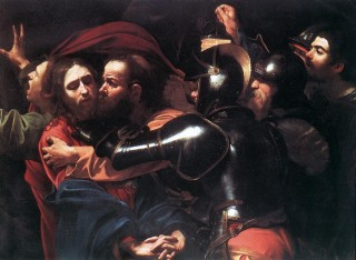 The Taking of the Christ by Caravaggio
