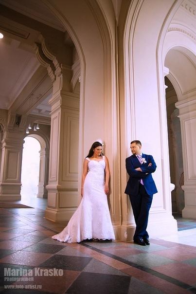 Съемка свадьбы фотоаппаратом