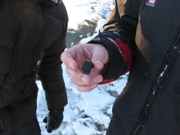 Ищем осколки метеорита на Южном Урале.