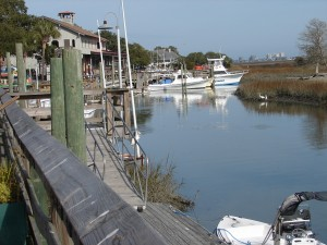 Marshwalk at Murrells Inlet