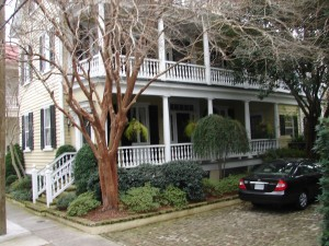 Charleston One Room Home with Portico