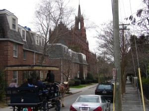 Charleston Church with Carriage