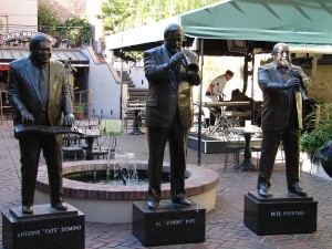 Musical Legends Park Statues