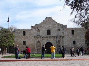 Alamo church shrine