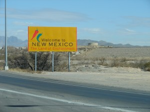 Entering New Mexico (2)
