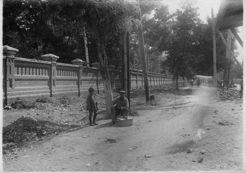 Так было. Историческая ограда. Фото середины 1930-х
