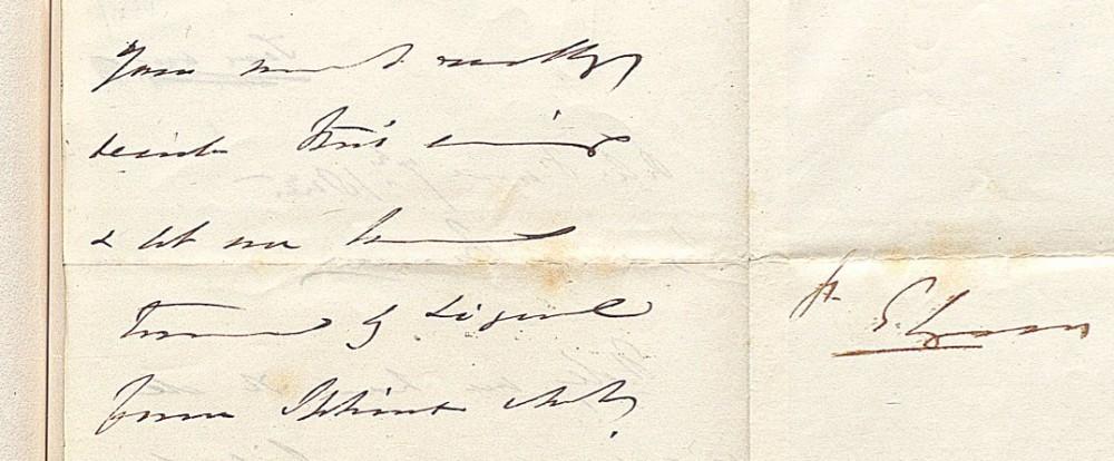 Справа –подпись автора