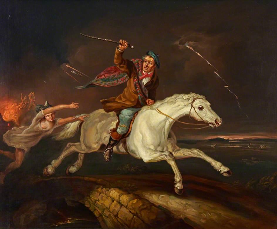 Картина неизвестного художник (в коллекции музея на борту «Катти Сарк»)