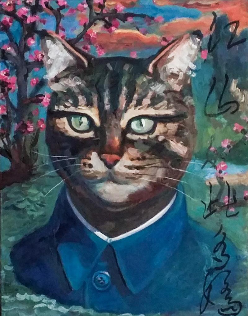 «Портрет Мао», 2015 г.