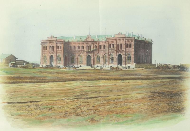 Старый таганрогский вокзал