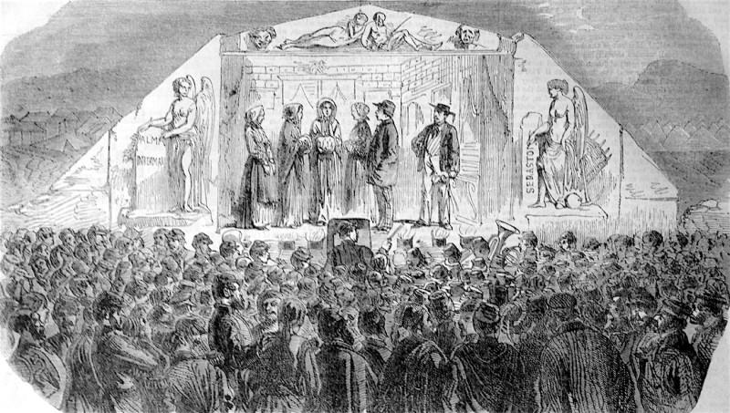 Театр французских зуавов под Севастополем