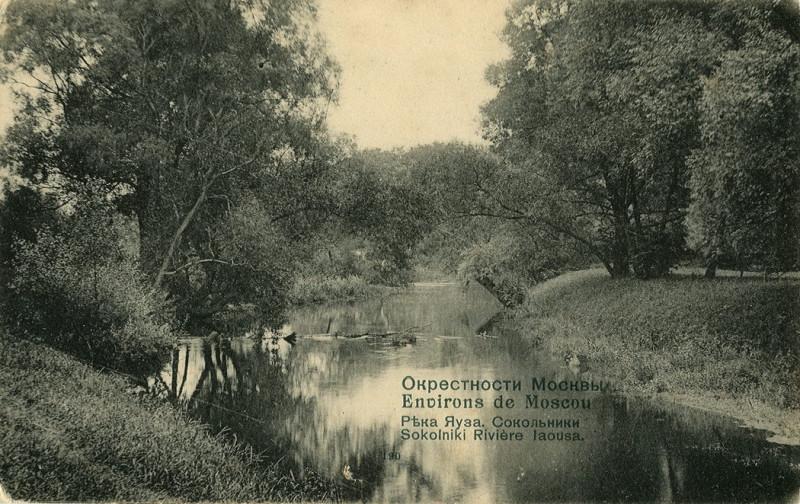 Река Яуза. Сокольники