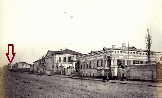 ул. Петровская. 1869 г. ТГЛИАМЗ