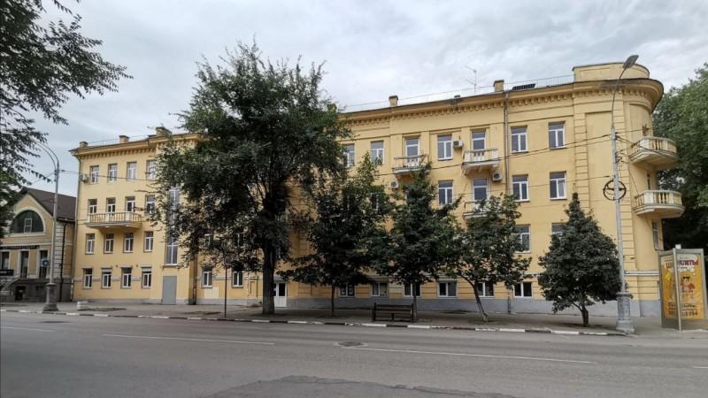 современный вид здания