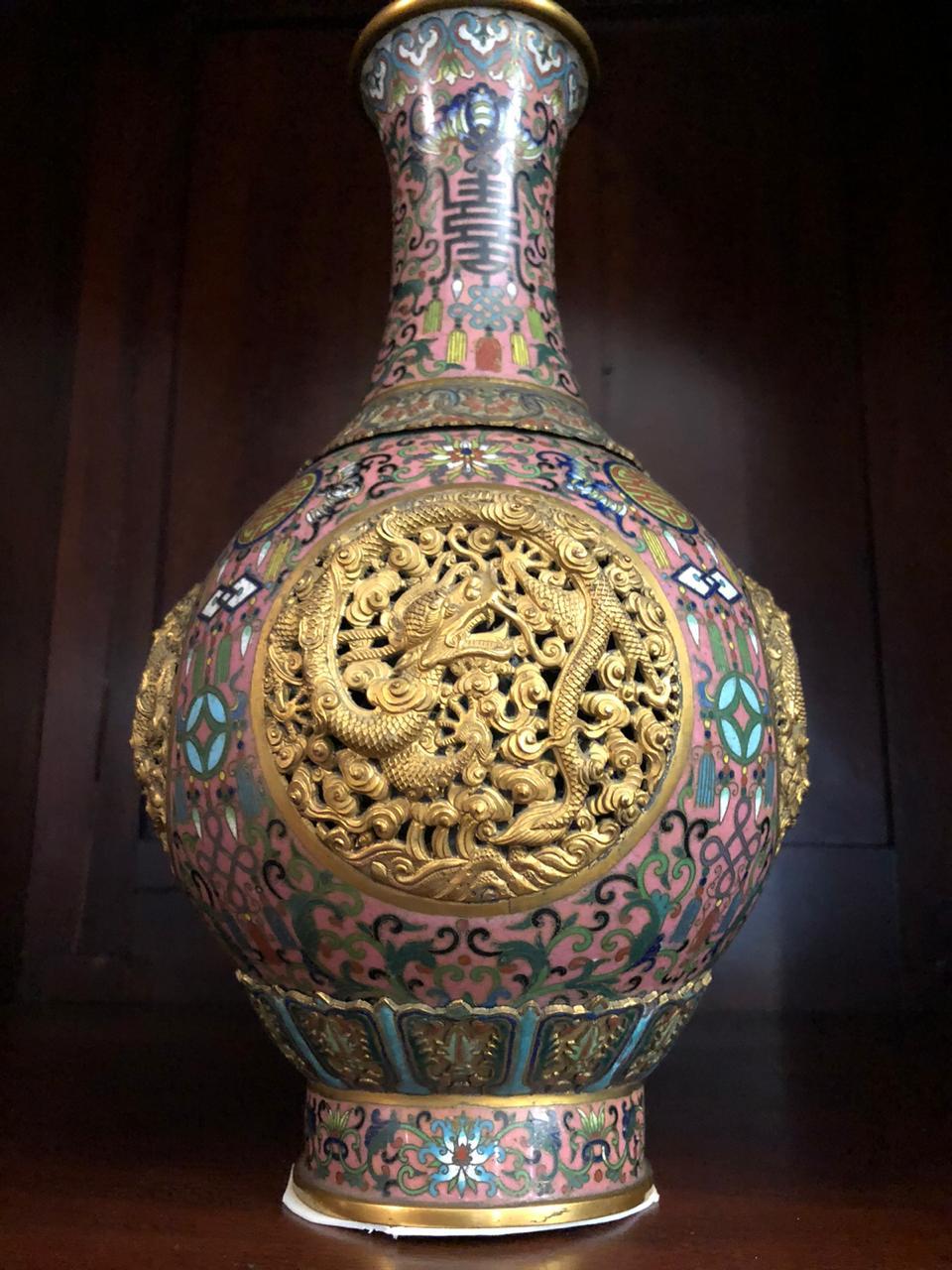 Китайская ваза из «Коллекции генерала фон Ренненкапмфа». ТГЛИАМЗ.