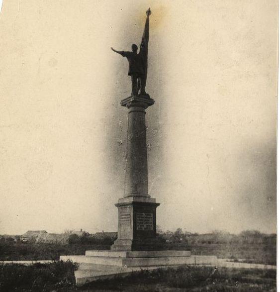 Памятник «Красного десанта 1918 года» под Таганрогом. Фото конца 1920-х годов из фондов ТГЛИАМЗ