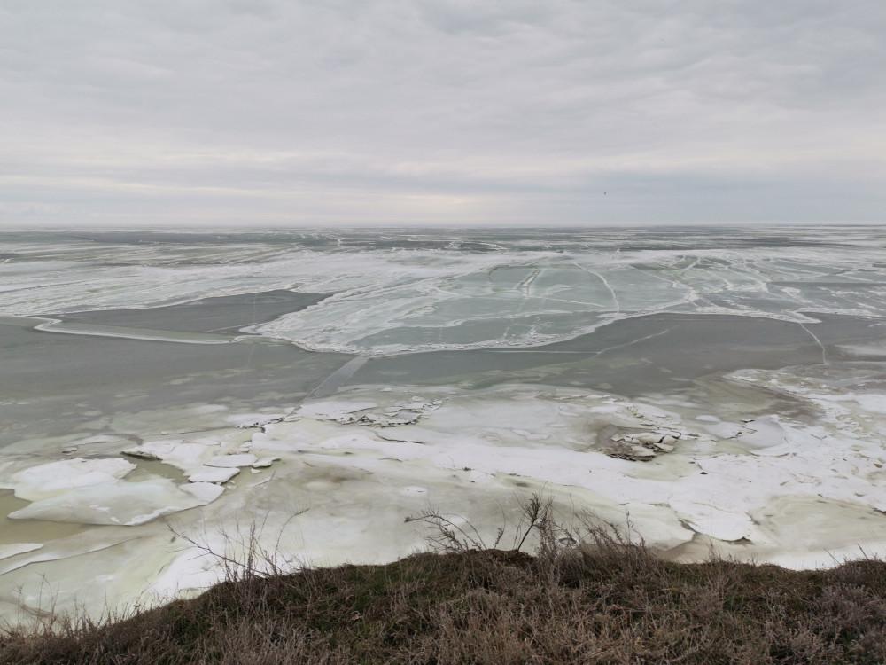 Бацманово. Вид с обрыва на Азовское море.