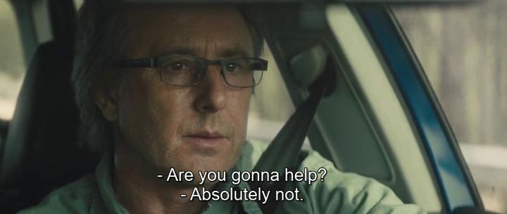 «Ты мне поможешь? / верно — Ты что, не остановишься [чтобы помочь]?