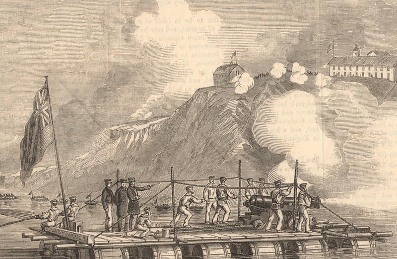 Гравюра 1855 г. из нашей коллекции