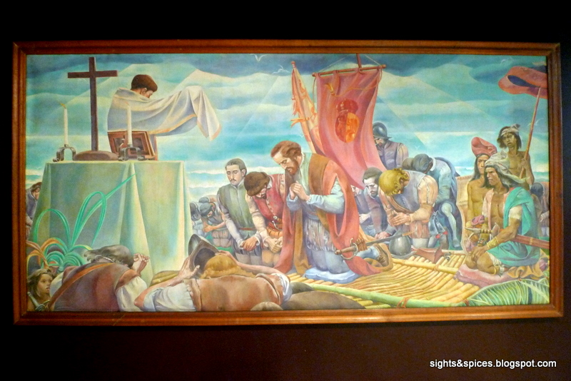 Botong Francisco - first mass at limasawa