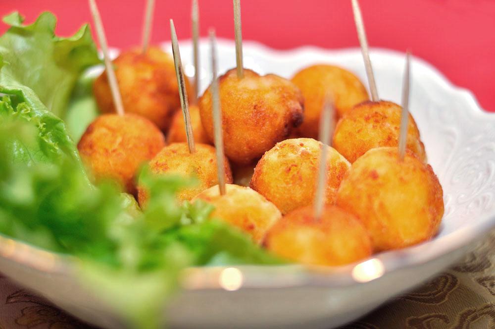 Картошка шариками фото рецепт