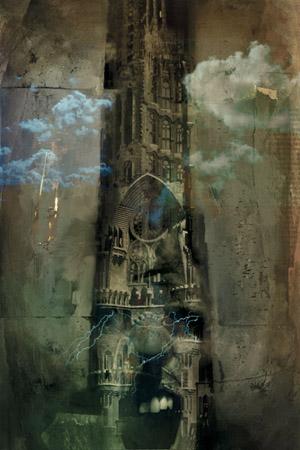 Dark Tower illustration by Dave McKean